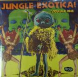 2 x LP/VA ✦ JUNGLE EXOTICA #1 ✦ Bongos, apes-noises and maracas galore!. Hear♫